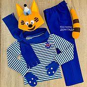 Одежда handmade. Livemaster - original item Cat costume for baby boy baby photo shoot. Handmade.