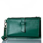 Сумки и аксессуары handmade. Livemaster - original item Genuine leather wallet 89501b. Handmade.