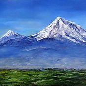 Картины и панно handmade. Livemaster - original item Oil painting Ararat. Handmade.