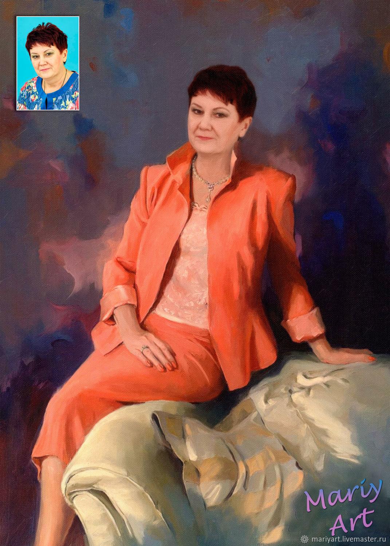 Портрет по фото, Фотокартины, Москва,  Фото №1