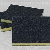Материалы для творчества handmade. Livemaster - original item SOFT sponge sanding double sided abrasive 100; 120; 220. Handmade.
