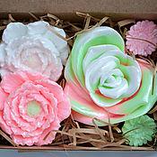 Подарки к праздникам ручной работы. Ярмарка Мастеров - ручная работа Набор цветочный. Handmade.