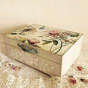 Для дома и интерьера ручной работы. Ярмарка Мастеров - ручная работа Шкатулка для украшений Paris. Handmade.