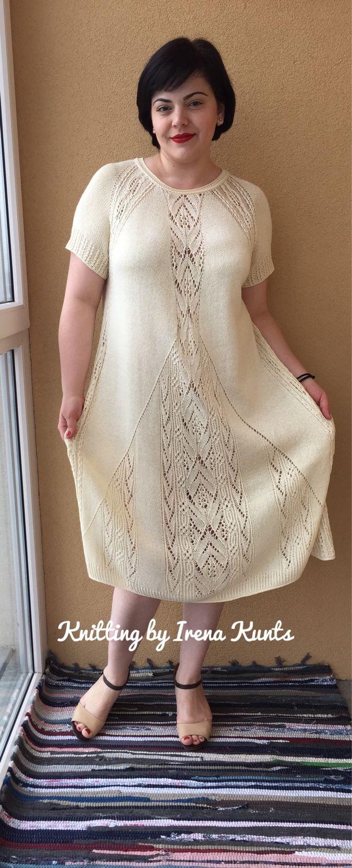 Мастер- класс по вязанию платья из шелка, Схемы для вязания, Калининград, Фото №1