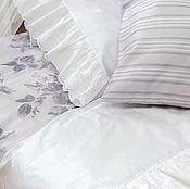 Для дома и интерьера ручной работы. Ярмарка Мастеров - ручная работа Постельное белье в стиле шебби шик с кружевом. Подарок на новоселье. Handmade.