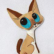 Куклы и игрушки ручной работы. Ярмарка Мастеров - ручная работа Кофейные котики. Handmade.