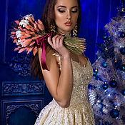"""Одежда ручной работы. Ярмарка Мастеров - ручная работа Платье """"Айвори"""". Handmade."""