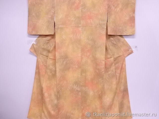 Japanese silk kimono 'Peach', Vintage clothing, Chelyabinsk,  Фото №1