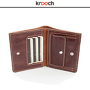 Сумки и аксессуары handmade. Livemaster - original item Leather wallet MEGO. Handmade.