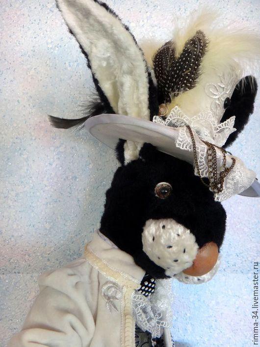 Мишки Тедди ручной работы. Ярмарка Мастеров - ручная работа. Купить Кролик   Артемыч. Handmade. Тедди, подарок на любой случай
