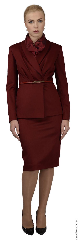"""Элегантный костюм для бизнес леди. Коллекция """"Аристократка"""", Платья, Москва, Фото №1"""