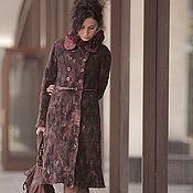 Одежда ручной работы. Ярмарка Мастеров - ручная работа авторское войлочное пальто ручной работы. Handmade.