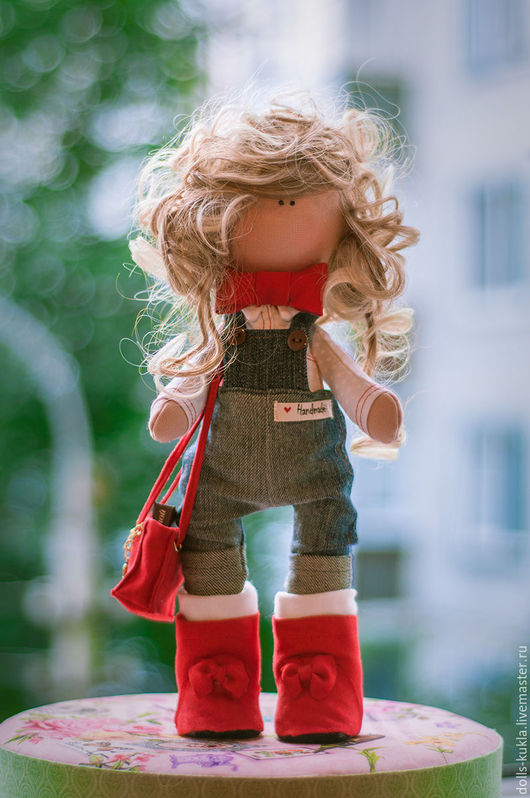 Куклы тыквоголовки ручной работы. Ярмарка Мастеров - ручная работа. Купить Жаклин. Handmade. Игрушки ручной работы, рукоделие, dolls