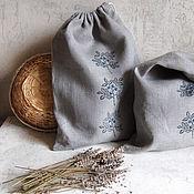 Для дома и интерьера handmade. Livemaster - original item A set of bags for storing herbs, berries. Handmade.