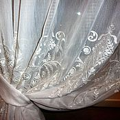 """Для дома и интерьера ручной работы. Ярмарка Мастеров - ручная работа Шторы """"Невеста"""". Handmade."""