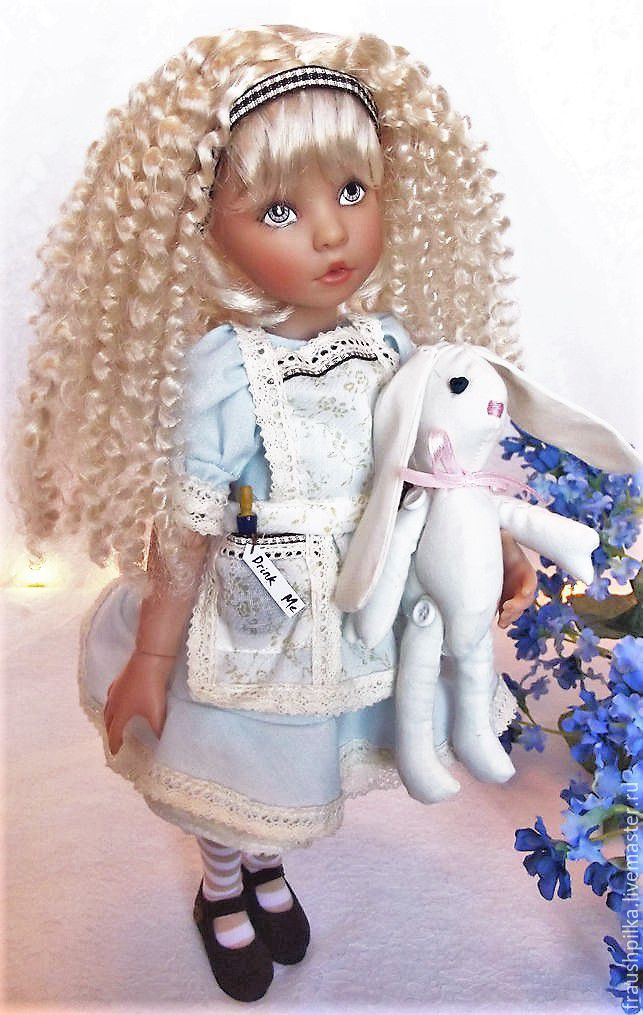 Collectible Doll Alice From Diana Effner 32cm заказать