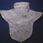 Аксессуары handmade. Livemaster - original item Women`s knitted dickey `Baltic wind`. Handmade.