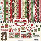 """В наличии! Набор бумаги """"The Story of Christmas Collection Kit"""""""