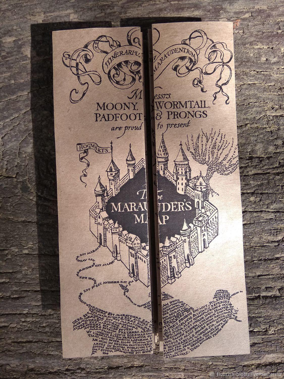 The Marauders Map, Movie souvenirs, St. Petersburg,  Фото №1