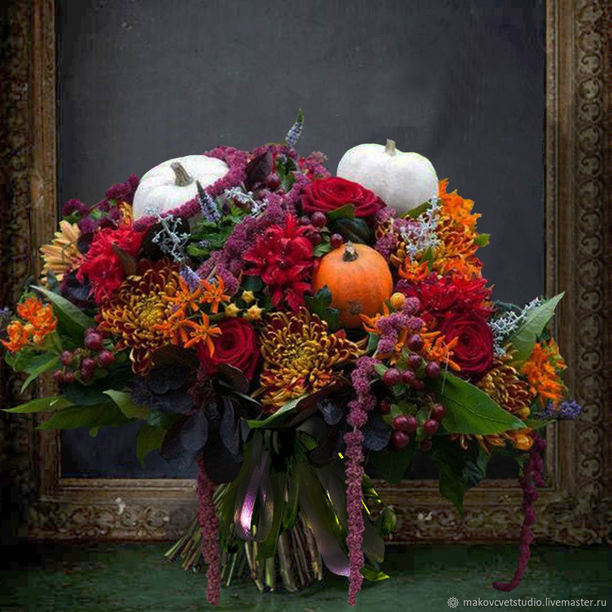 Autumn kiss a bouquet of flowers shop online on livemaster with autumn kiss a bouquet of flowers makovcvetstudio online shopping on my izmirmasajfo