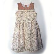 Работы для детей, ручной работы. Ярмарка Мастеров - ручная работа Романтичное платье для девочки. Handmade.