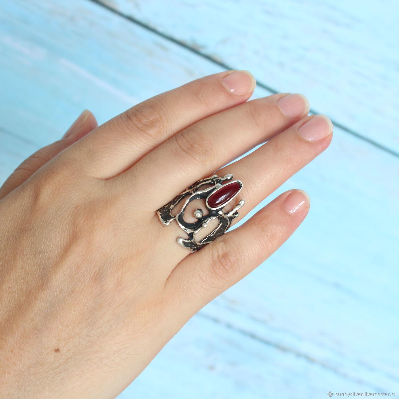 Кольцо серии Этнический Авангард #20 серебро 925 (ВИДЕО) – купить на Ярмарке Мастеров – M8G32RU | Кольца, Ереван