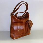 Сумки и аксессуары handmade. Livemaster - original item Leather bag 125. Handmade.