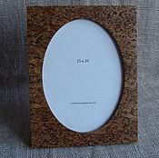 Сувениры и подарки manualidades. Livemaster - hecho a mano Marco de fotos de abedul de carelia 15 x 20. Handmade.