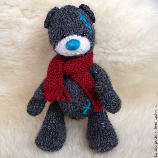 Мишки Тедди ручной работы. Ярмарка Мастеров - ручная работа. Купить Медвежонок. Handmade. Медвеж, вязаная игрушка, мишка, подарок