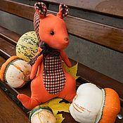 Куклы и игрушки ручной работы. Ярмарка Мастеров - ручная работа Рыженькая белочка. Handmade.