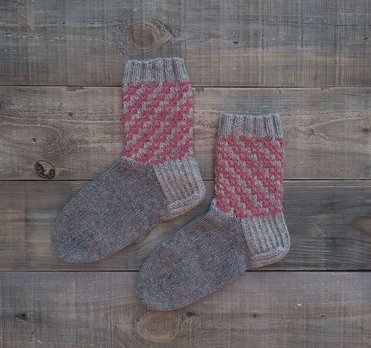 Носки, Чулки ручной работы. Ярмарка Мастеров - ручная работа. Купить Теплые носки ,,уДачные,,. Носки вязаные. Носки женские. Handmade.