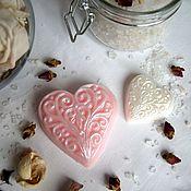 """Косметика ручной работы. Ярмарка Мастеров - ручная работа Мыло """"Нежное сердце"""". Handmade."""