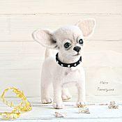 Подарки к праздникам handmade. Livemaster - original item Felted Chihuahua. Handmade.