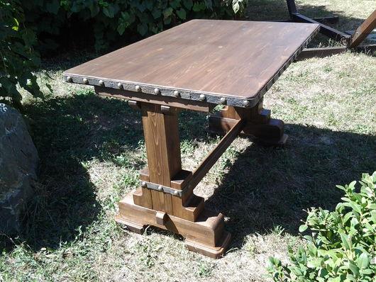Мебель ручной работы. Ярмарка Мастеров - ручная работа. Купить Стол под старину. Handmade. Мебель деревянная, стол деревянный