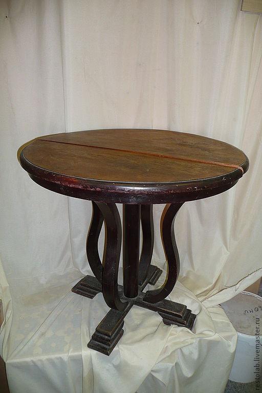 Реставрация. Ярмарка Мастеров - ручная работа. Купить Реставрация стола 40-х годов. Массив берёзы.. Handmade. Реставрация мебели