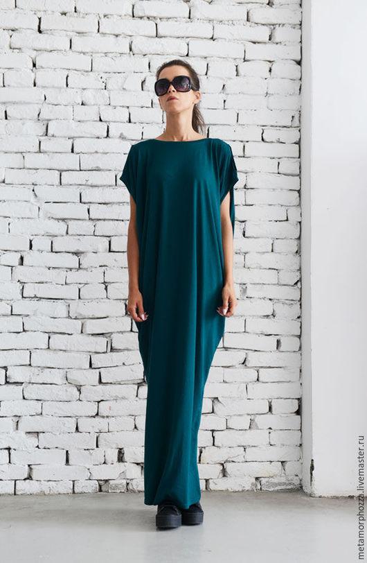 Платья ручной работы. Ярмарка Мастеров - ручная работа. Купить Изумрудное платье, платье на выход. Handmade. Платье, платье для беременных