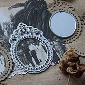 Материалы для творчества ручной работы. Ярмарка Мастеров - ручная работа Набор ножей для вырубки Рамочка-медальон и овал, 3,5х5,2см, 2,5х3см. Handmade.