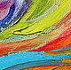 Order Oil painting 'Rainbow horse'. Multicolor Gallery. Livemaster. . Pictures Фото №3