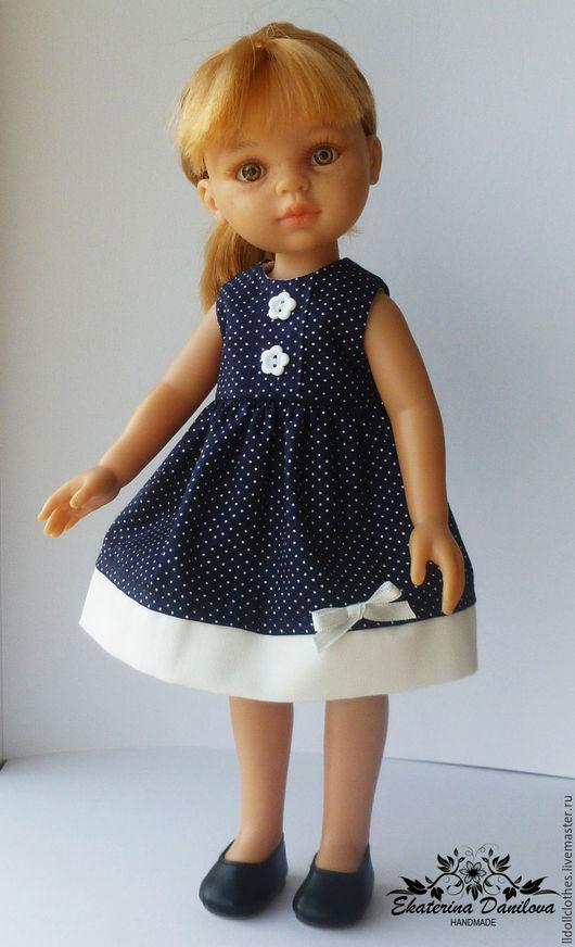 Одежда для кукол ручной работы. Ярмарка Мастеров - ручная работа. Купить Продано Платье для куклы Paola Reina. Handmade. Белый
