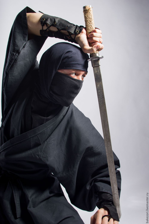 Ига-сёдзоку (костюм ниндзя) по мотивам Синоби но Моно, Кардиганы, Калуга,  Фото №1
