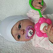 Куклы и игрушки ручной работы. Ярмарка Мастеров - ручная работа Реборн Дашенька виниловая полностью (на заказ). Handmade.
