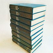 handmade. Livemaster - original item Books Goethe`s collected works, 9 volumes, 1975. Handmade.