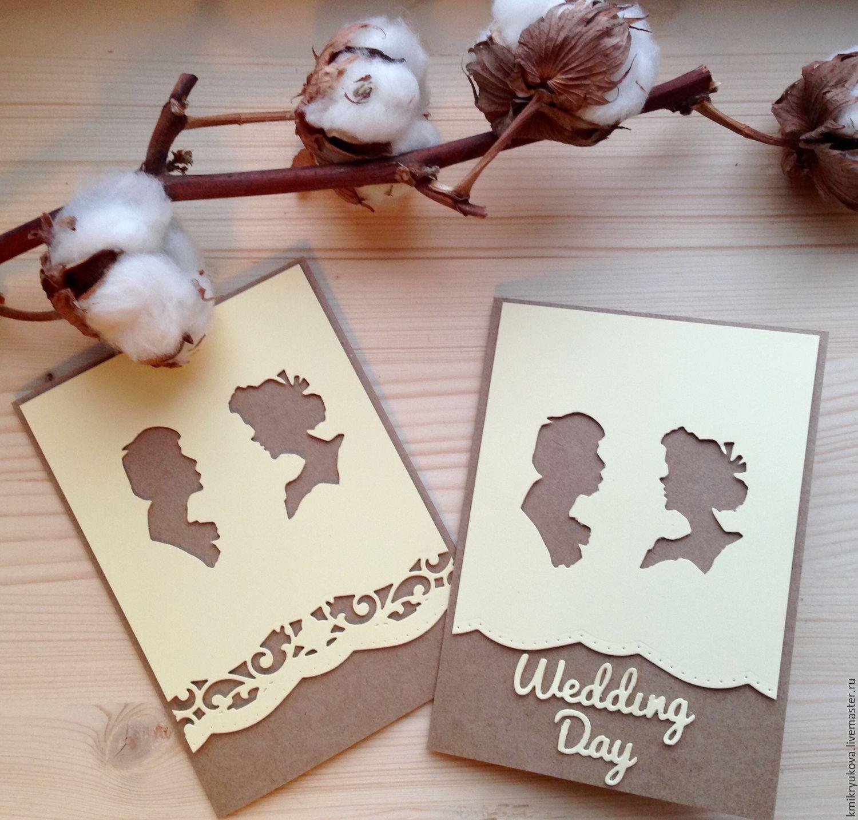 Заказать оригинальную открытку на свадьбу