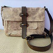 Сумки и аксессуары handmade. Livemaster - original item bag leather belt wild horse. Handmade.
