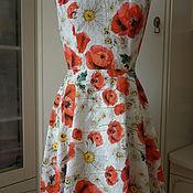 Одежда ручной работы. Ярмарка Мастеров - ручная работа Летнее платье из шитья. Handmade.