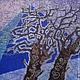 Пейзаж ручной работы. Заказать Картина Рассвет выполненная на хб ткани в технике горячего батика. Мария. Ярмарка Мастеров. Коричневый