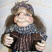 Куклы и игрушки ручной работы. Ярмарка Мастеров - ручная работа Яга. Handmade.