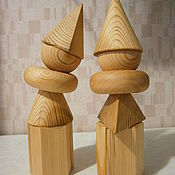Куклы и игрушки handmade. Livemaster - original item geometric shapes. Handmade.