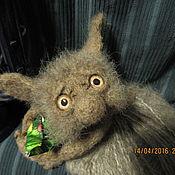 Куклы и игрушки ручной работы. Ярмарка Мастеров - ручная работа РЕЗЕРВ..Конфетный шуршунчик))(лесные..домовые..чердачные). Handmade.