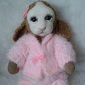 Куклы и игрушки ручной работы. Ярмарка Мастеров - ручная работа вязаная овечка Дашенька. Handmade.